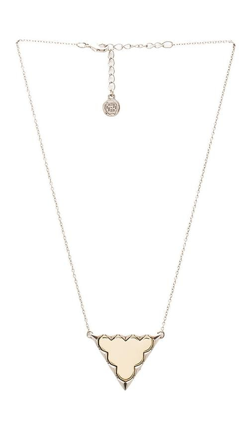 House of Harlow Classic Reversible Triangle Pendant