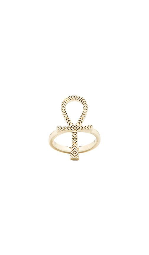 House of Harlow Knot of Isis Ring