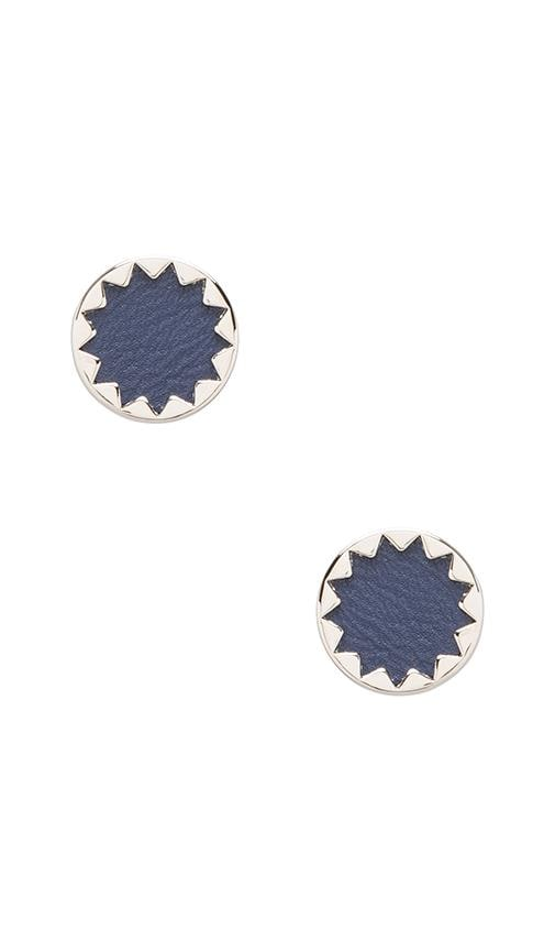 House of Harlow Sunburst Button Earrings