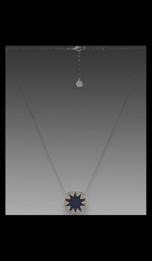 House of Harlow Mini Sunburst Pendant Necklace