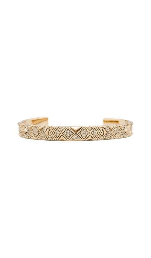 House of Harlow Engraved Kilim Cuff