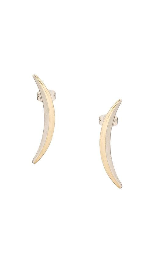House of Harlow Sun and Moon Sliver Earring