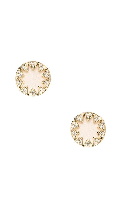 House of Harlow Sunburst Pave Earrings