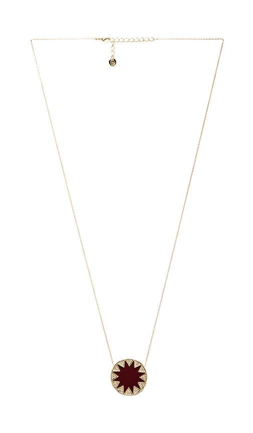 House of Harlow Medium Pave Sunburst Necklace