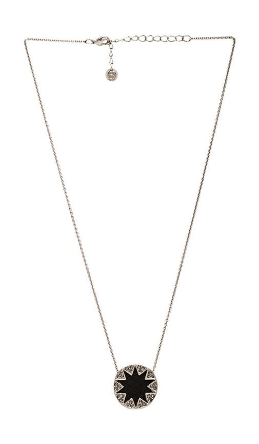 House of Harlow Mini Pave Sunburst Necklace