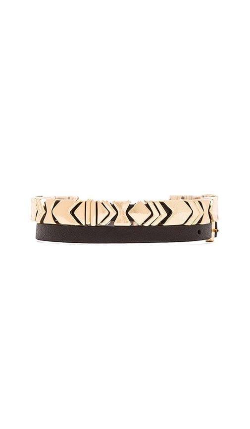 House of Harlow Aztec Wrap Bracelet