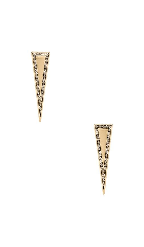 House of Harlow Athena's Shield Earrings
