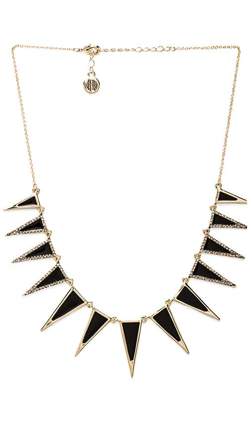 House of Harlow Enameled Echelon Collar Necklace