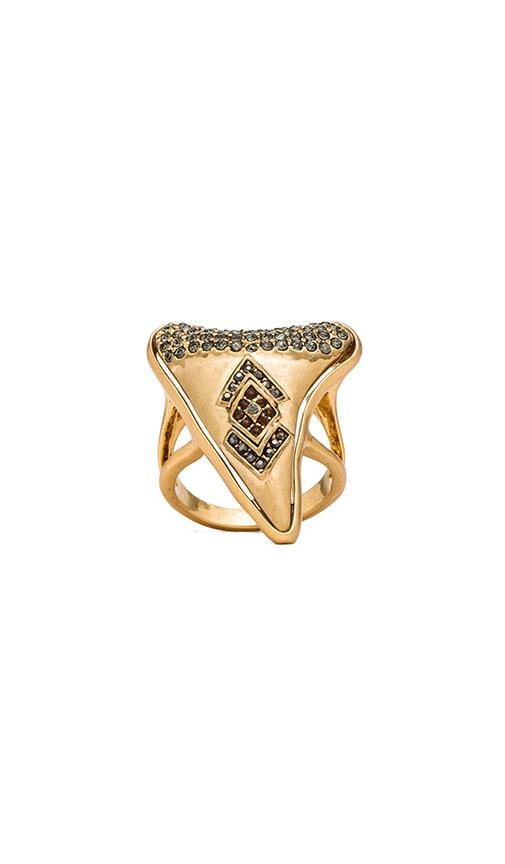 House of Harlow Tribal Tooth Cocktail Ring
