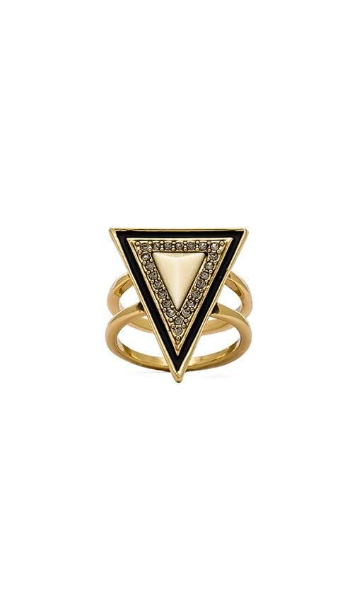 House of Harlow Teepee Triangle Ring