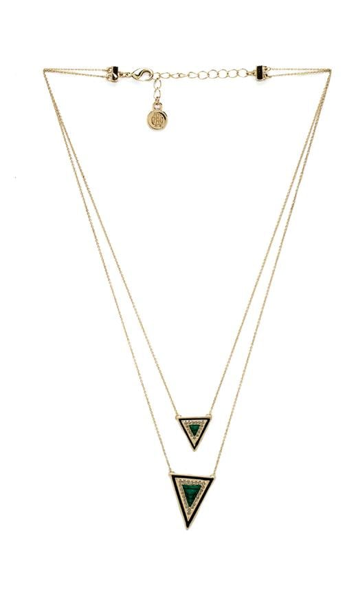 House of Harlow Teepee Triangle Necklace