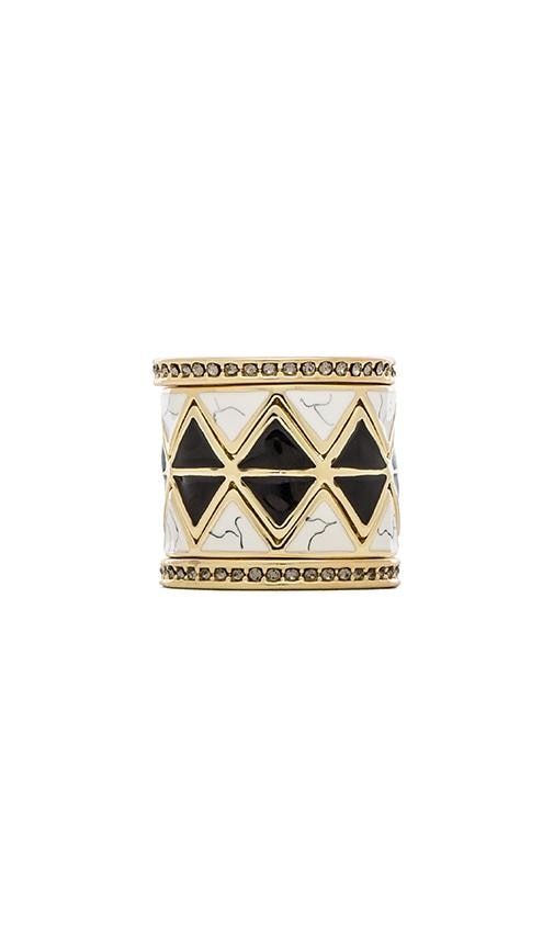 House of Harlow Reflector Ring Stack