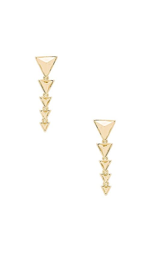 House of Harlow Meteora Drop Earring in Gold