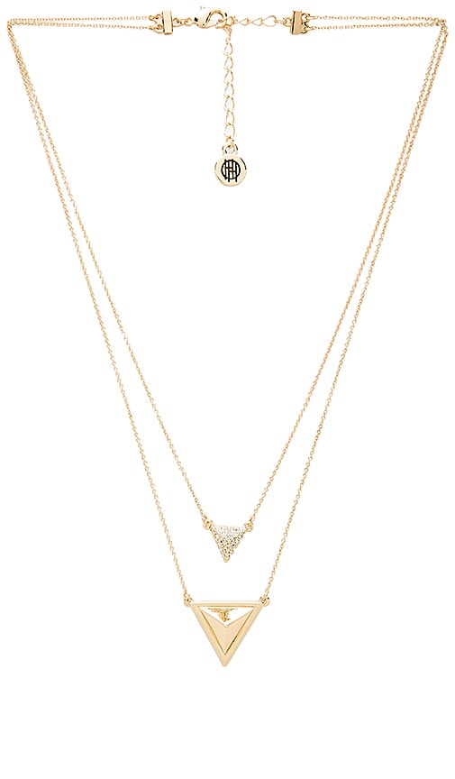 House of Harlow Temple Pendant Necklace