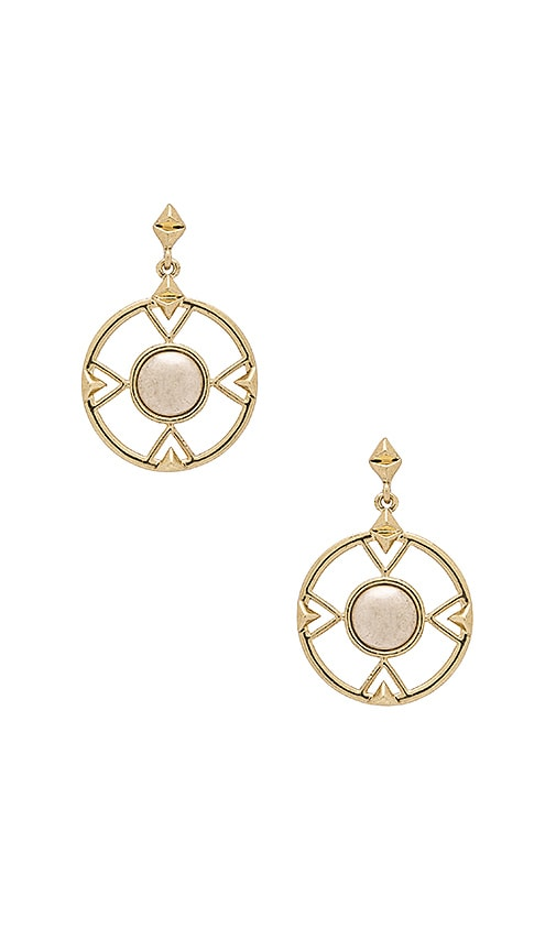 House of Harlow The Four Elements Drop Earring in Gold
