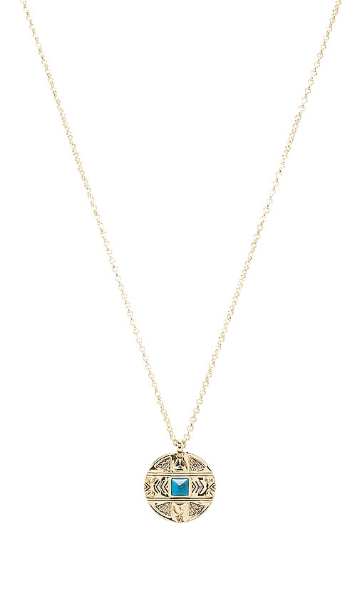 House of Harlow Maricopa Coin Pendant Necklace