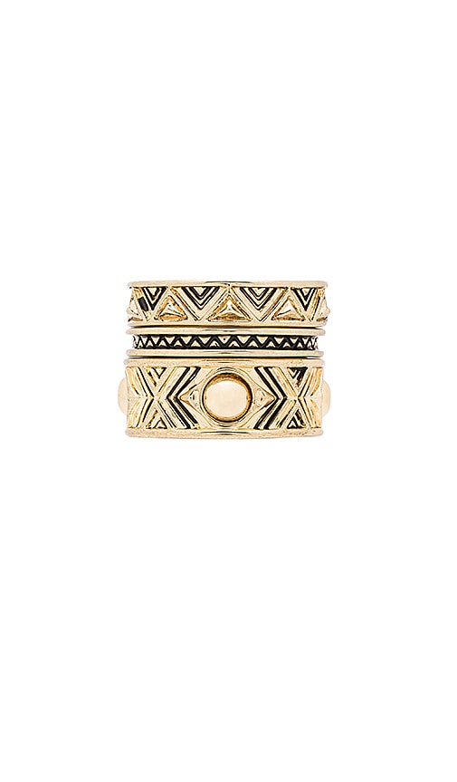 House of Harlow Dorelia Stacked Ring Set