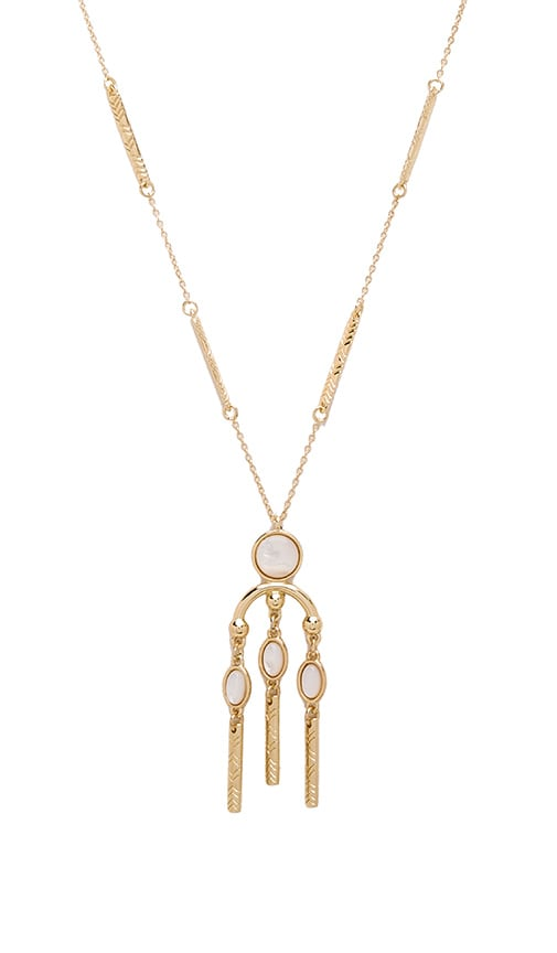 House Of Harlow Desert Oasis Drop Pendant Necklace in Metallic Gold cBemM7d