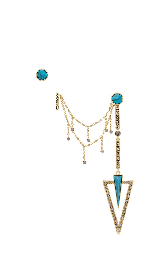 House of Harlow South Point Statement Earrings