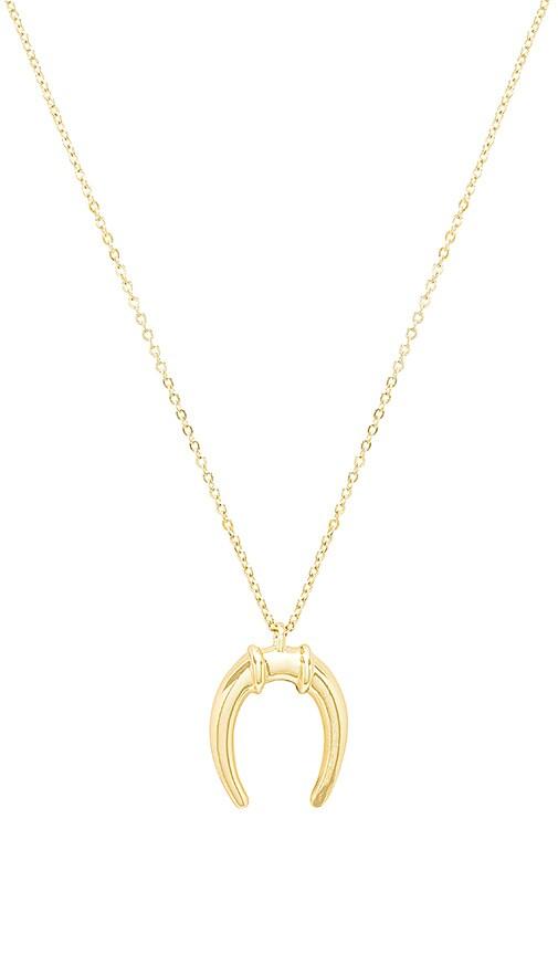 X REVOLVE Golden Tusk Necklace