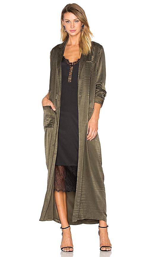x REVOLVE Cheryl Maxi Coat