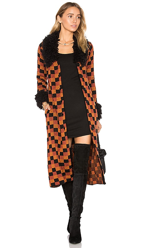 House of Harlow 1960 x REVOLVE Joan Coat in Orange
