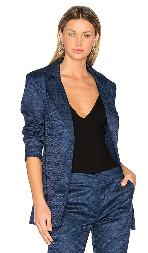 House of Harlow 1960 x REVOLVE Jean Blazer in Blue