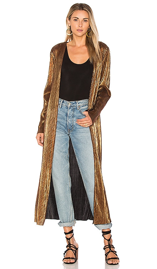 House of Harlow 1960 x REVOLVE Jodie Jacket in Metallic Gold