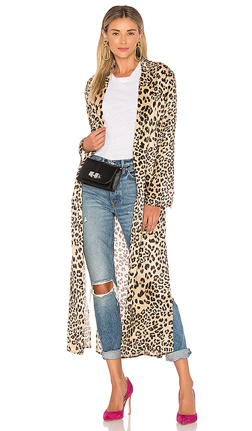 574e8e706714 House of Harlow 1960 x REVOLVE Delaney Duster in Leopard | REVOLVE