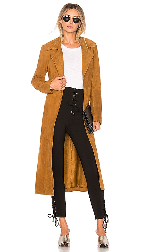 House of Harlow 1960 x REVOLVE Ryder Jacket in Cognac