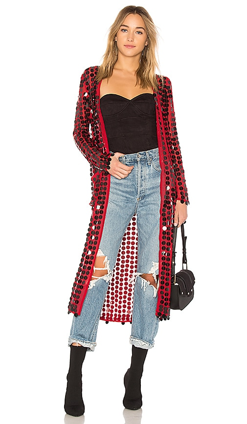 House of Harlow 1960 x REVOLVE Joy Jacket in Red