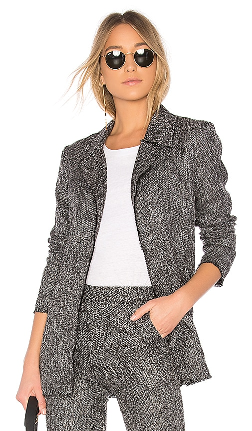 House of Harlow 1960 x REVOLVE Cooper Jacket in Gray