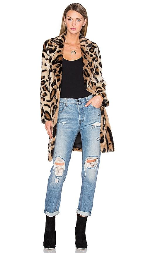 x REVOLVE Genn Faux Fur Coat