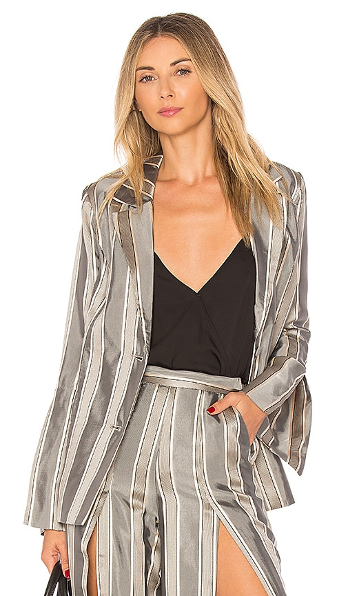 House of Harlow 1960 x REVOLVE Evangelista Blazer in Gray