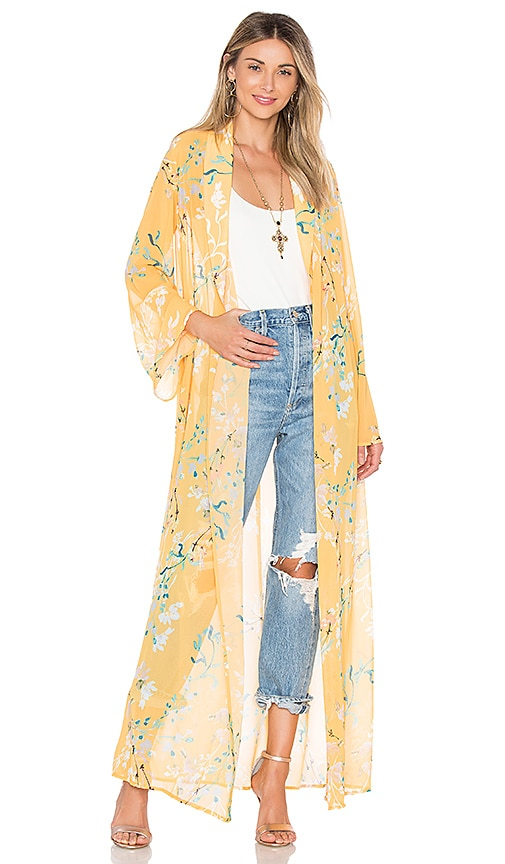 House of Harlow 1960 x REVOLVE Ruby Jacket in Yellow