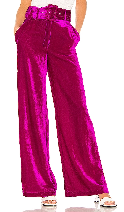 X REVOLVE Mona Belted Pant