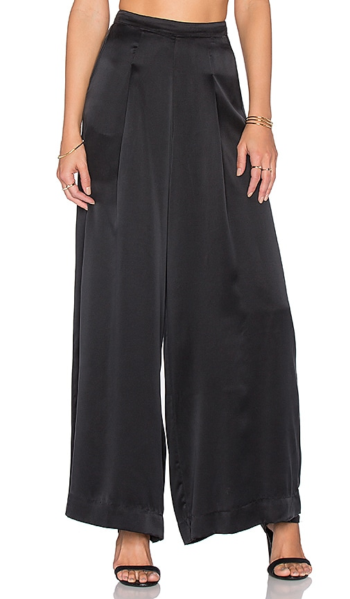 House of Harlow Jagger Pant in Ebony