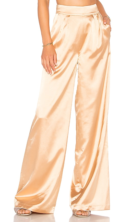 House of Harlow 1960 x REVOLVE Charlie Pant in Metallic Gold