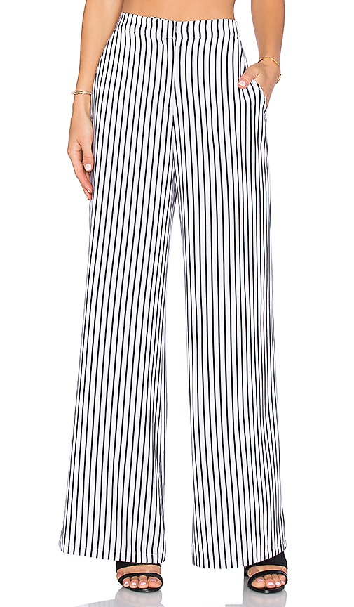 House of Harlow 1960 x REVOLVE Mona Pant in Black & White