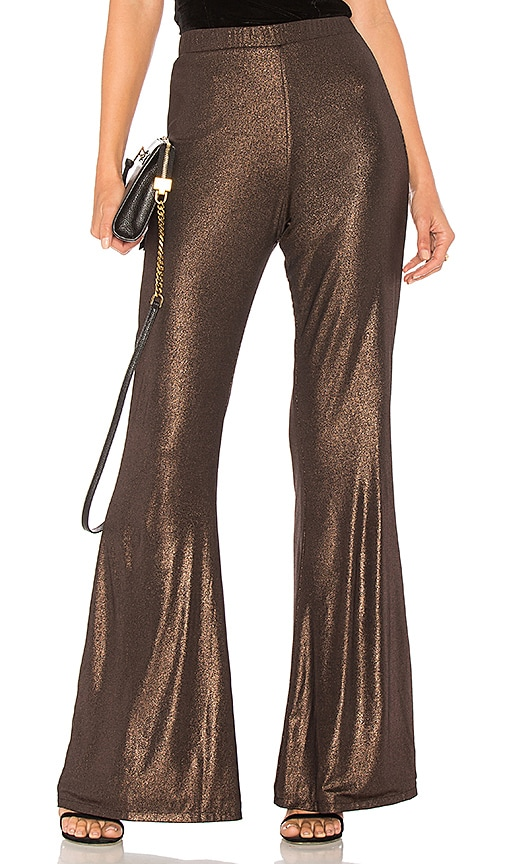 House of Harlow 1960 x REVOLVE Cristos Knit Pant in Metallic Copper