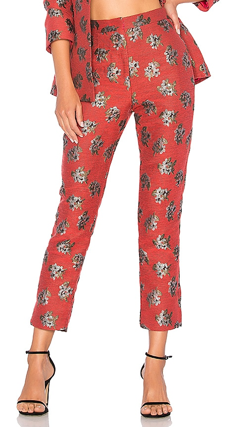 House of Harlow 1960 x REVOLVE Solange Pant in Red