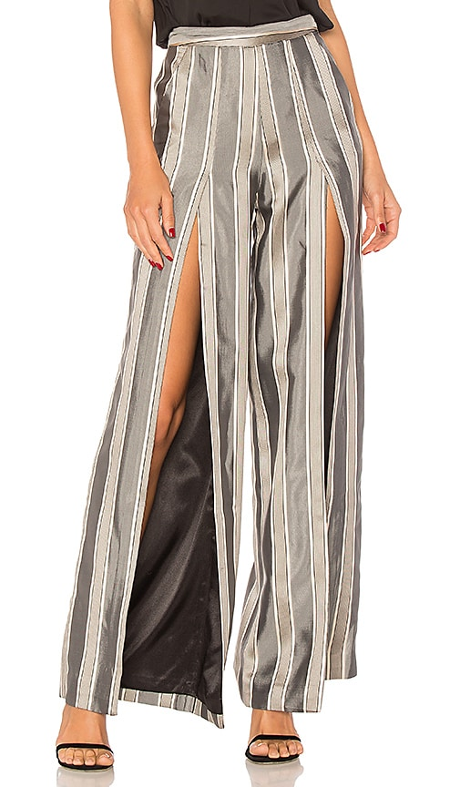 x REVOLVE Evangelista Trouser in Gray. - size XS (also in L,M,S) House Of Harlow