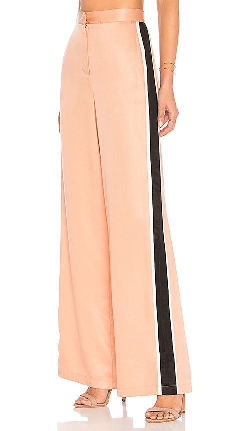 House of Harlow 1960 x REVOLVE Wide Leg Track Pants in Blush