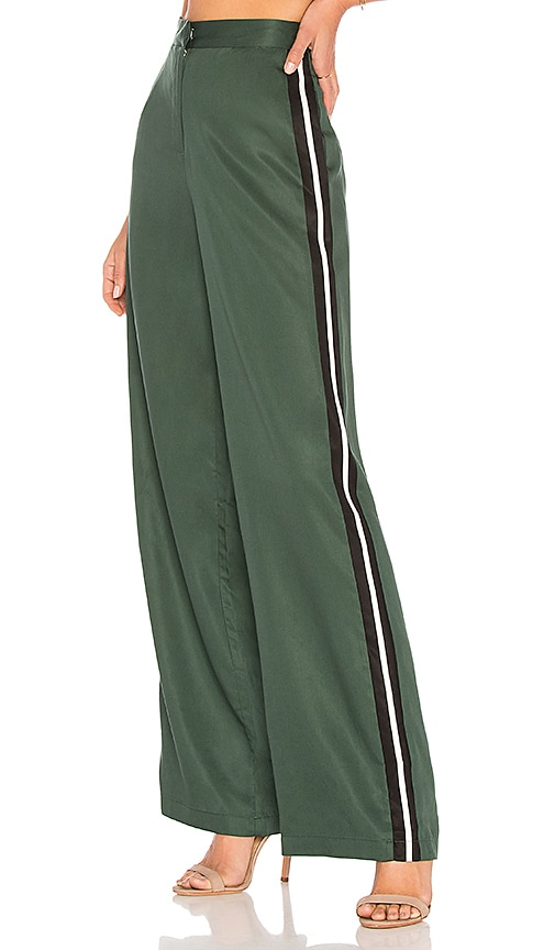 House of Harlow 1960 x REVOLVE Wide Leg Track Pants in Green