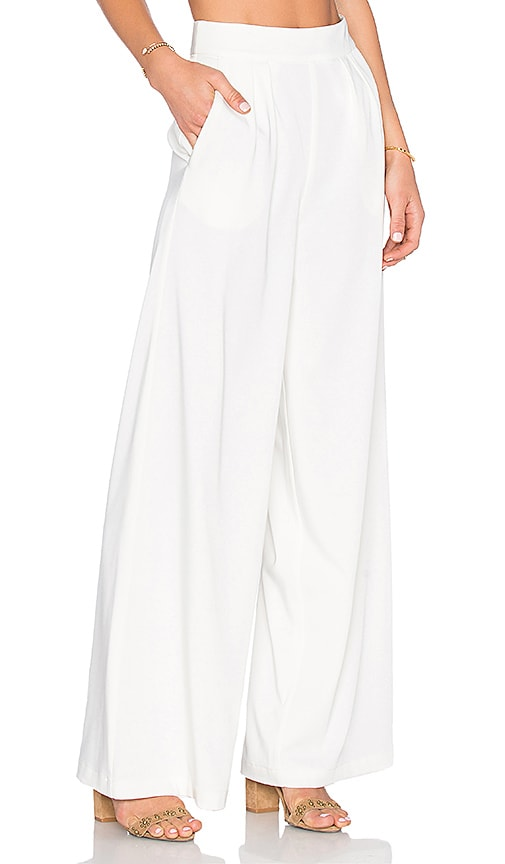 House of Harlow 1960 x REVOLVE Charlie Wide Leg Pant in Ivory