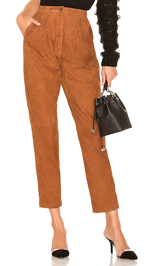 x REVOLVE Axel Suede Pant