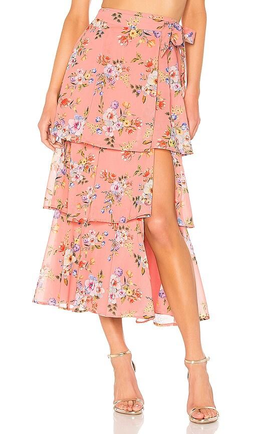 X REVOLVE Sabine Wrap Skirt