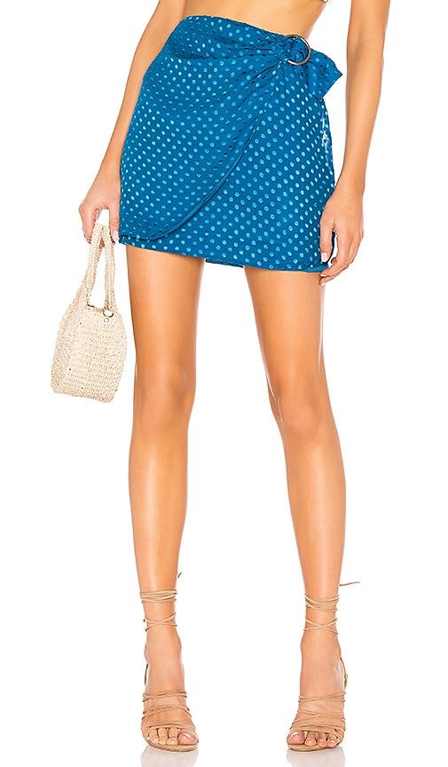 x REVOLVE Bobbi Silk Skirt