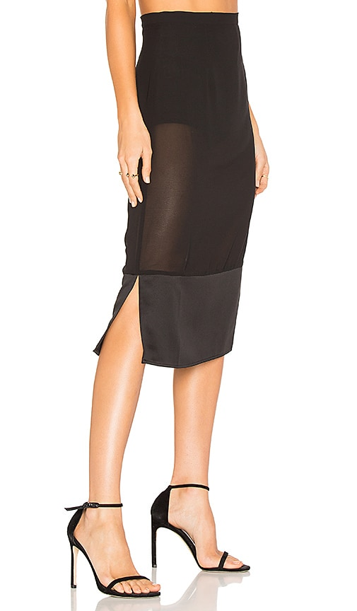 House of Harlow 1960 x REVOLVE Vitti Skirt in Black