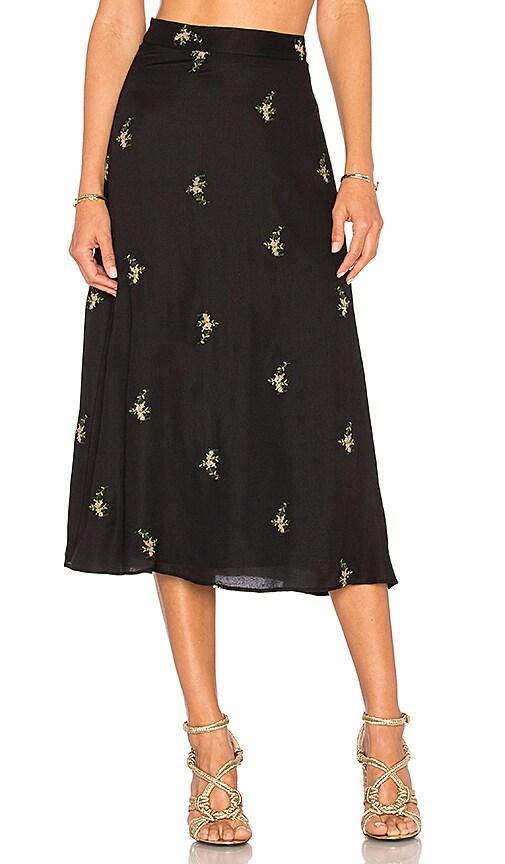 House of Harlow 1960 x REVOLVE Luna Midi Skirt in Black